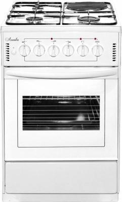 Комбинированная плита Лысьва ЭГ 1/3г01-2у белый газовая плита лысьва эг 1 3г01 мс 2у электрическая духовка черный