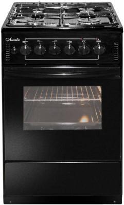Комбинированная плита Лысьва ЭГ 401-2У черный электрическая плита лысьва эп 301 wh