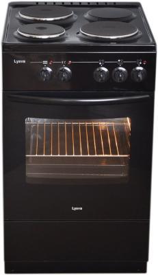 Электрическая плита Лысьва ЭП 301 СТ черный электрическая плита лысьва эп 301 эмаль коричневый [эп 301 brown]