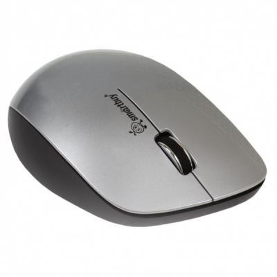 все цены на Мышь беспроводная Smart Buy SBM-309AG-SK серебристый чёрный USB онлайн