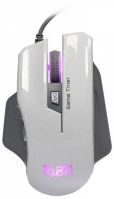 Мышь проводная Smart Buy RUSH 709 белый USB