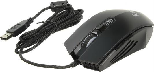 Мышь проводная Smart Buy RUSH 710 чёрный USB