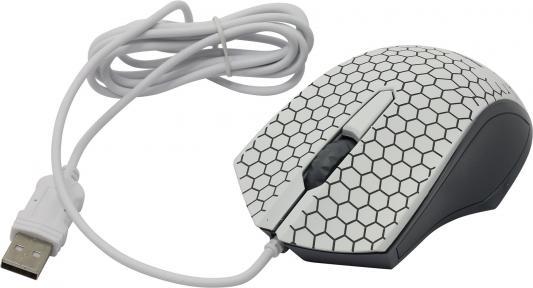 Мышь проводная Smart Buy ONE 334 белый USB