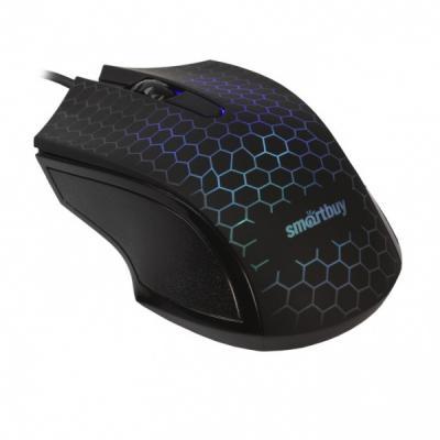 Мышь проводная Smart Buy ONE 334 чёрный USB
