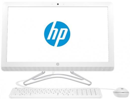 """Моноблок 23.8"""" HP 24-e051ur 1920 x 1080 Intel Core i5-7200U 4Gb 1Tb GeForce GT 920MX 2048 Мб DOS белый 2BW44EA все цены"""