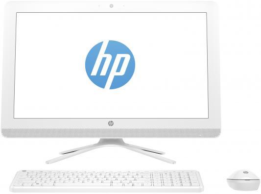 """Моноблок 21.5"""" HP 22-b375ur 1920 x 1080 Intel Core i5-7200U 4Gb 1Tb Intel HD Graphics 620 Windows 10 белый 2BW25EA"""
