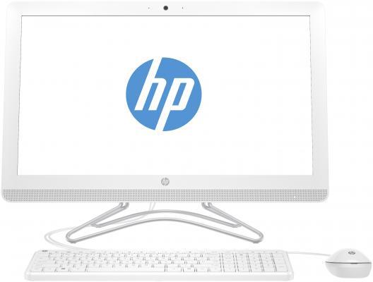 """Моноблок 23.8"""" HP 24-e041ur 1920 x 1080 Intel Core i3-7100U 4Gb 1Tb nVidia GeForce GT 920МХ 2048 Мб DOS белый 2BW35EA"""