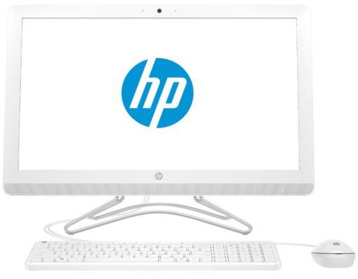 Моноблок 23.8 HP 24-e045ur 1920 x 1080 Intel Core i3-7100U 4Gb SSD 256 Intel HD Graphics 620 Windows 10 белый 2BW39EA моноблок hp pavilion 24 x009ur intel core i7 7700t 8гб 2тб intel hd graphics 630 windows 10 белый [2mj60ea]