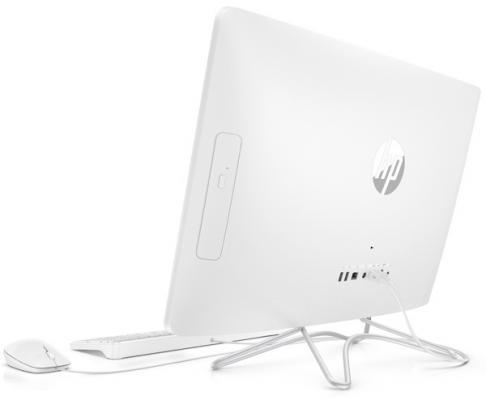 "Моноблок 23.8"" HP 24-e045ur 1920 x 1080 Intel Core i3-7100U 4Gb SSD 256 Intel HD Graphics 620 Windows 10 белый 2BW39EA"