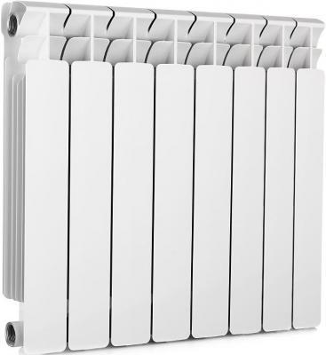 Радиатор RIFAR B 350 х 8 сек НП прав (BVR) (собранный) биметаллический радиатор rifar рифар b 500 нп 10 сек лев кол во секций 10 мощность вт 2040 подключение левое