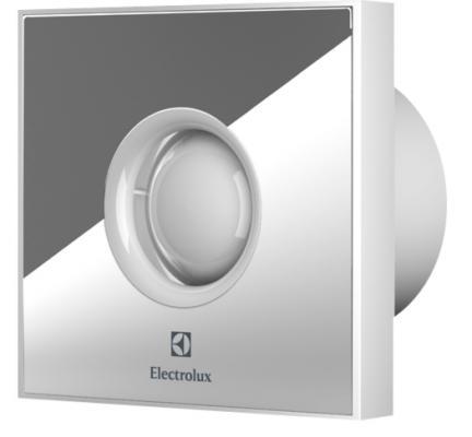 Вентилятор вытяжной Electrolux Rainbow EAFR-100T 15 Вт серебристый