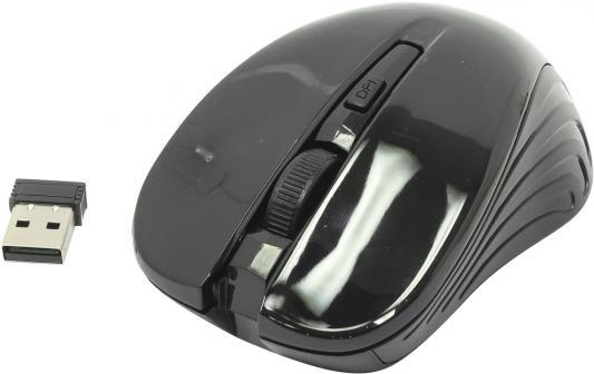 Мышь беспроводная Smart Buy ONE 340AG чёрный USB SBM-340AG-K мышь smartbuy one 340 ag bordo sbm 340ag m