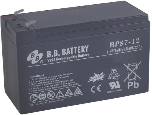 Батарея B.B. Battery BPS 7-12 7Ач 12B us eu free tax electric bike battery 36v 15ah water bottle 18650 li ion battery 36v 500w e bike kettle battery with charger bms