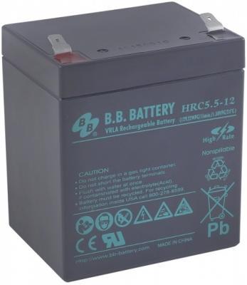 Батарея B.B. Battery HRC 5.5-12 5Ач 12B от 123.ru