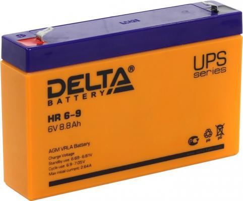 Батарея Delta HR 6-9 9Ач 6B батарея delta hr 6 4 5 6v 4 5ah