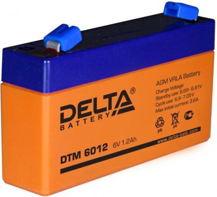 Батарея Delta DTM 6012 1.2Ач 6B от 123.ru