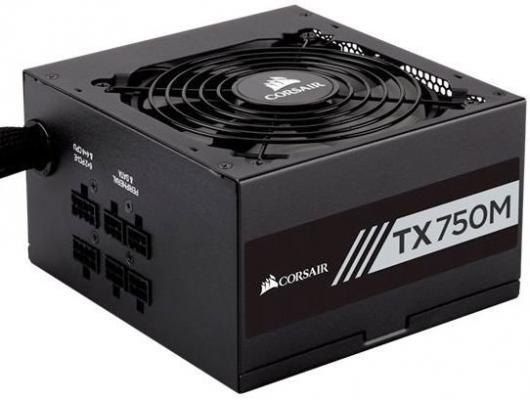 БП ATX 750 Вт Corsair TX750M CP-9020131-EU видеокарта gigabyte geforce gt710 2gb gddr5