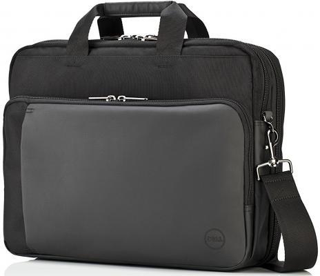 Сумка для ноутбука 15.6 DELL Premier Briefcase ткань черный 460-BBOB сумка для ноутбука 14 dell 460 bcbf синтетика черный