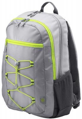 """цена Рюкзак для ноутбука 15.6"""" HP Active Backpack синтетика серый зеленый 1LU23AA онлайн в 2017 году"""