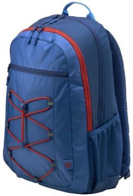 Рюкзак для ноутбука 15.6 HP Active Backpack синтетика синий красный 1MR61AA 100% cowhide backpack pabojoe brand 2017