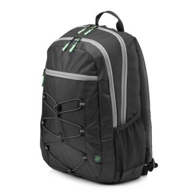 Рюкзак для ноутбука 15.6 HP Active Backpack синтетика черный серый 1LU22AA