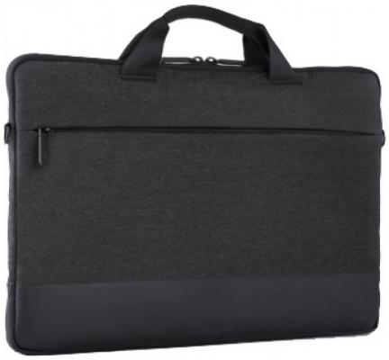 Чехол для ноутбука 14 DELL Professional неопрен черный 460-BCFM сумка для ноутбука 14 dell 460 bcbf синтетика черный