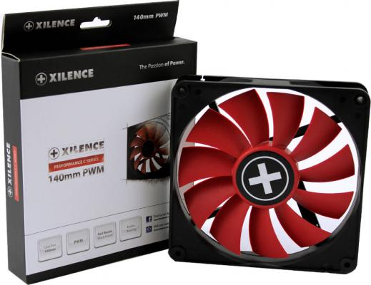 Вентилятор Xilence XPF140.R.PWM 140x140x25мм 4pin 700rpm XF051 от 123.ru