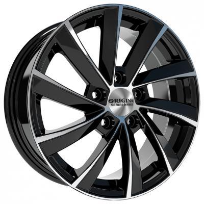 Диск Скад KL-273 6.5xR16 5x112 мм ET46 Алмаз колесные диски кик окинава 7 5x17 6x139 7 d67 1 et46 алмаз черный