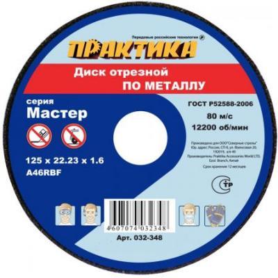 Отрезной диск Практика по металлу 115х22х2 031-013