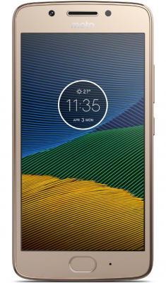 Смартфон Motorola G5S золотистый 5.2 32 Гб LTE Wi-Fi GPS 3G XT1794 PA7W0022RU смартфон micromax q334 canvas magnus черный 5 4 гб wi fi gps 3g
