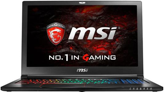 Ноутбук MSI GS63VR 7RG-026RU Stealth Pro 15.6 1920x1080 Intel Core i7-7700HQ msi gs63vr 7rf 410ru stealth pro black