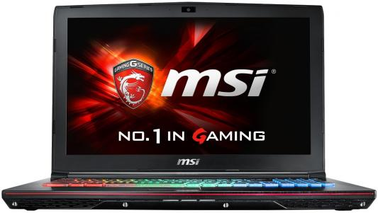 Ноутбук MSI GE63VR 7RF-058RU Raider 15.6 1920x1080 Intel Core i7-7700HQ 9S7-16P112-058 ноутбук msi gs43vr 7re 094ru phantom pro 9s7 14a332 094