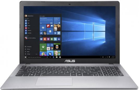"Ноутбук Asus K550VX-DM408D Core i5 6300HQ/4Gb/500Gb/SSD128Gb/nVidia GeForce GTX 950M 2Gb/15.6""/FHD (1920x1080)/Free DOS/grey/WiFi/BT/Cam"