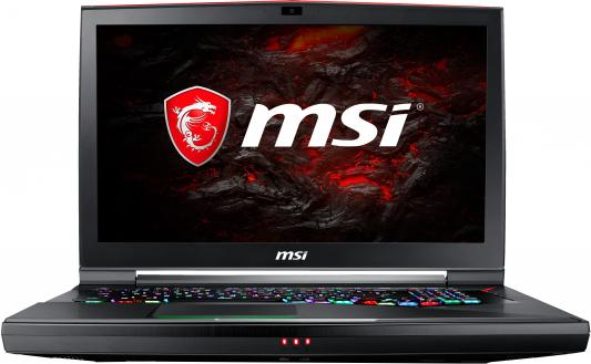 Ноутбук MSI GT75VR 7RE-054RU Titan SLI 4K 17.3 3840x2160 Intel Core i7-7820HK 9S7-17A211-054 ноутбук msi gt73vr 6re 059ru titan sli 17 3 3840x2160 intel core i7 6820hk 9s7 17a111 059