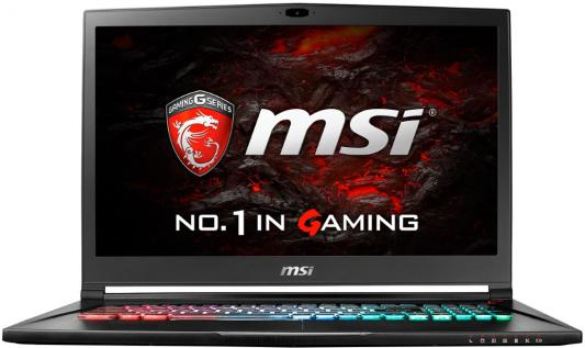 Ноутбук MSI GS73VR 7RG-026RU Stealth Pro 17.3 1920x1080 Intel Core i7-7700HQ 9S7-17B312-026 ноутбук msi gs43vr 7re 094ru phantom pro 9s7 14a332 094