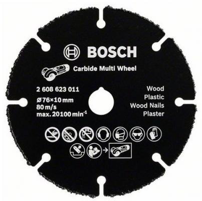 Отрезной круг Bosch 76мм для УШМ по дереву 2608623011