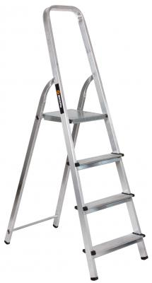 Лестница-стремянка Вихрь СА 1х4 алюминиевая