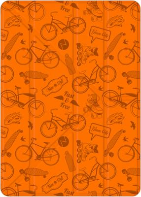 Чехол-книжка Deppa Wallet Onzo Graffiti для iPad оранжевый 88034 amalthea genuine leather wallet female