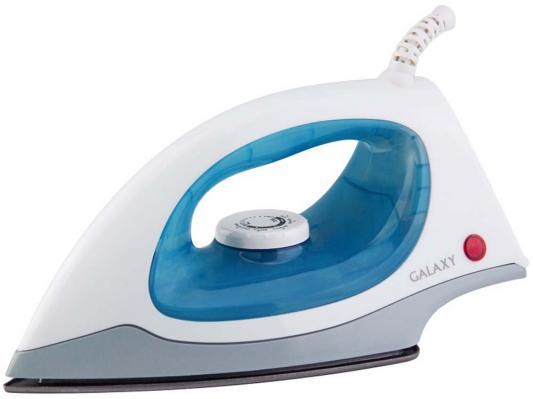 Утюг GALAXY GL6105 1500Вт белый голубой