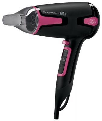 Фен Rowenta CV3812F0 чёрный розовый цена