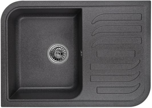 Мойка Weissgauff SOFTLINE 695 Eco Granit графит  weissgauff classic 695 eco granit чёрный
