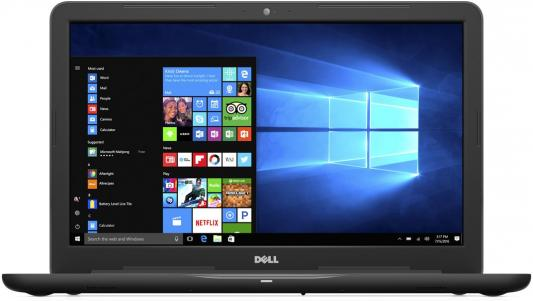 Ноутбук Dell Inspiron 5767 Pentium 4415U(2.3)/4G/500G/17,3HD+ /Intel HD610/DVD-SM/BT/Win10 (5767-1905) (Black) ноутбук dell inspiron 3567