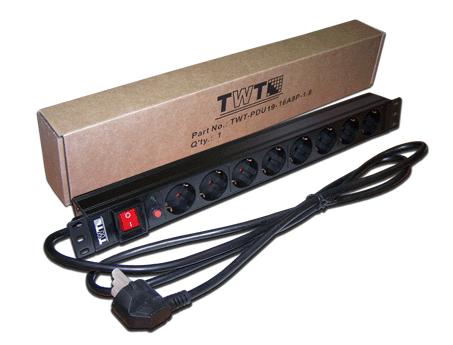 Блок розеток Lanmaster TWT-PDU19-16A8P-1.8 8 розеток 1.8 м черный блок розеток цмо rem 16 r 16 9s i 440 1 8 9 розеток 1 8 м черный