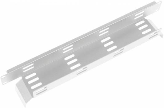 Горизонтальный кабельный органайзер ЦМО ГКО-Л-1 19 2U односторонний горизонтальный кабельный органайзер цмо гко о 1 9005 19 1u односторонний черный