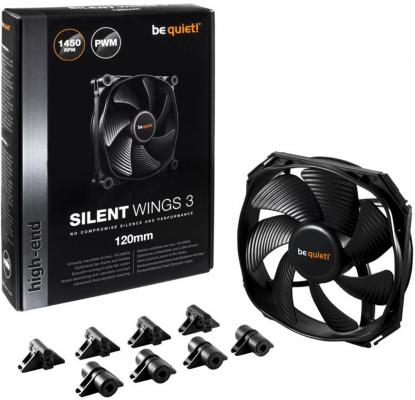 Вентилятор be quiet! SilentWings 3 120x120x25мм 4pin BL066 от 123.ru