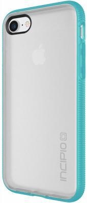Чехол Incipio Octane для iPhone 7. Материал пластик. Цвет прозрачный/бирюзовый.