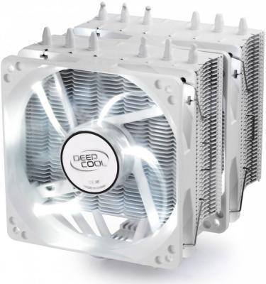 Кулер для процессора Deep Cool Neptwin White Socket 1150/1151/1155/1156/2066/1356/1366/2011/2011-3/AM2/AM2+/AM3/AM3+/FM1