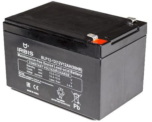 Батарея Irbis VRLA-AGM BLP12- 12Ач 12B