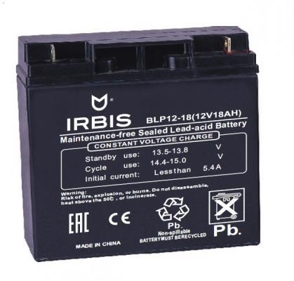 Батарея Irbis VRLA-AGM BLP12-18 18Ач 12B батарея delta dt 1218 18ач 12b