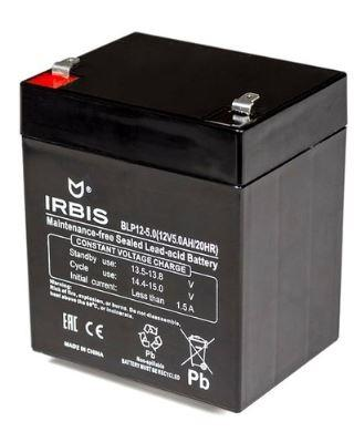 Батарея Irbis VRLA-AGM BLP12-5.0 5Ач 12B от 123.ru